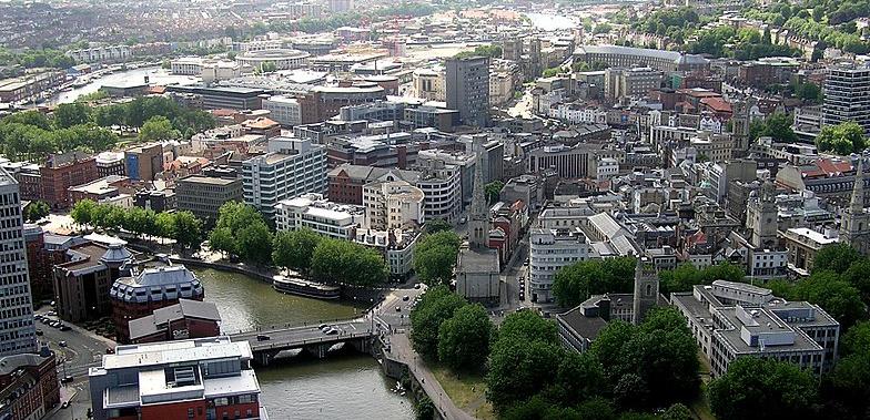 Bristol aerial photo
